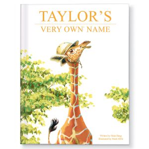 My Very Own Name Giraffe Storybook