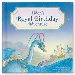 Custom My Royal Birthday Dragon Adventure Children's Book
