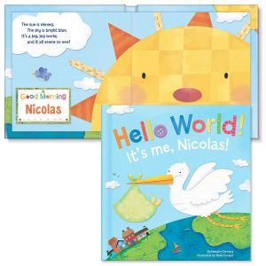 Hello World! Personalized Storybook for Boys