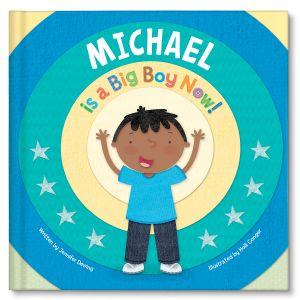 Custom Big Boy Now Children's Book
