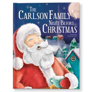 Our Family's Personalized Night Before Christmas Storybook