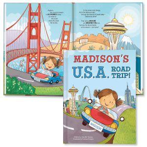 My USA Road Trip Custom Storybook