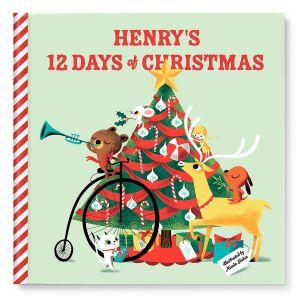 12 Days of Christmas Custom Storybook