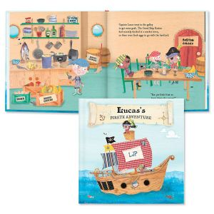 My Pirate Adventures Custom Storybook