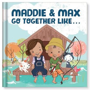 Custom We Go Together Children's Book