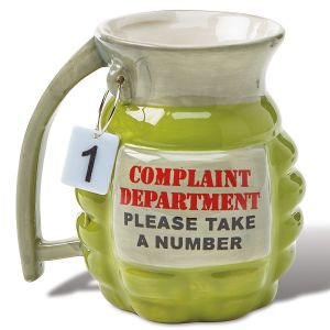 Complaint Department Coffee Mug