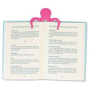 Booktopus Pink Bookmark