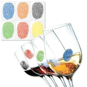 Fingerprint Drink Markers