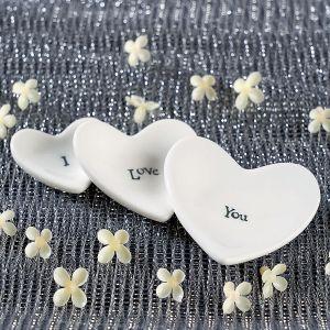 Stackable Keepsake Mini Heart Dishes