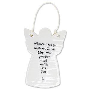 Wherever You Go Porcelain Ornament