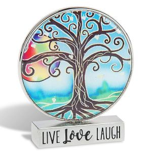 Live Love Laugh Mini Figurine
