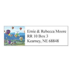 Balloons Classic Address Labels