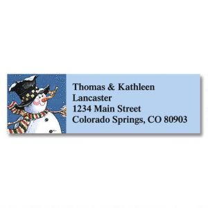 Winter's Nest Classic Address Labels