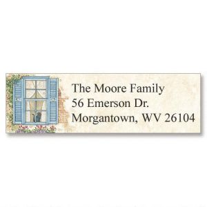 Window Seat  Classic Address Labels