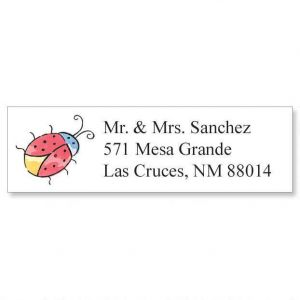 Ladybug Classic Address Labels