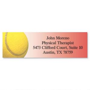 Tennis Classic Address Labels