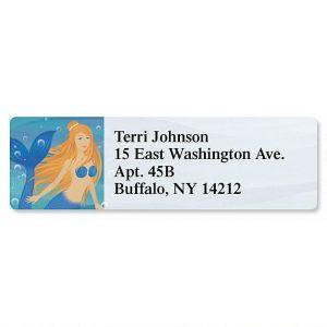 Mermaids Classic Address Labels