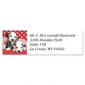 Dalmatian Classic Address Labels