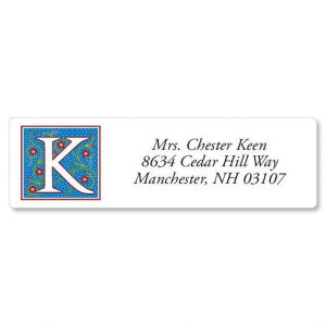 Nabel Monogram Classic Address Labels