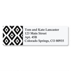 Modest Diamonds Classic Address Labels