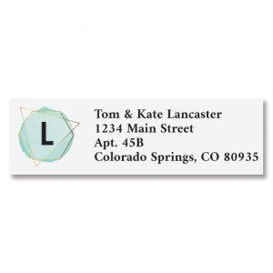 Modern Initial Classic Return Address Labels