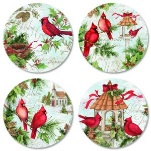 Cardinal Nest Envelope Seals (4 Designs)