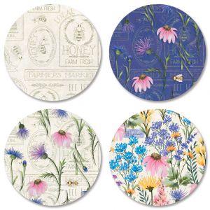 Wildflower Sanctuary Envelope Seals (4 Designs)