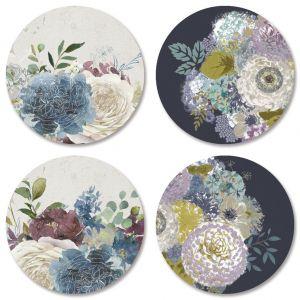 Fall Florals Envelope Seals (4 Designs)