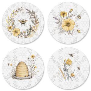 Sweet Bee Envelope Seals (4 Designs)