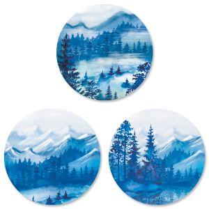 Blue Wilderness Envelope Seals (3 Designs)