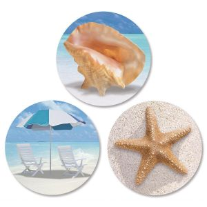 Calm Seas  Envelope Seals   (3 Designs)