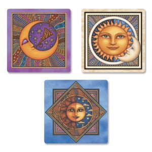 Sun & Moon Envelope Seals  (3 Designs)