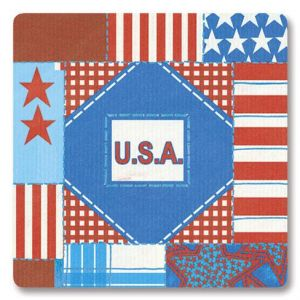 All About the Flag  Envelope Seals   (1 Design)