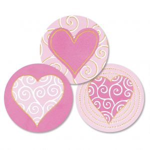 Fabulously Pink Envelope Seals   (3 Designs)