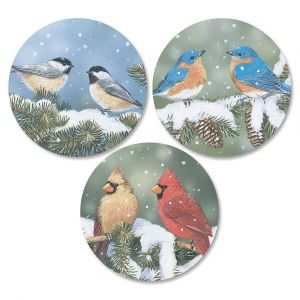 Cardinals and Friends Envelope Seals  (3 Designs)