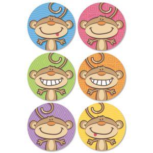 Monkey Envelope Seals  (6 Designs)
