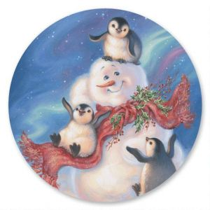 Snow Buddies  Envelope Seals