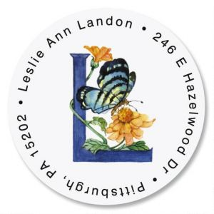 Butterfly Initial Round Address Labels
