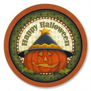 Pumpkin Witch Envelope Seals  (3 Designs)