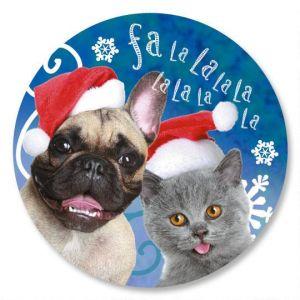 Welcoming Christmas Envelope Seals