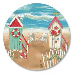 Holiday by the Sea Envelope Seals