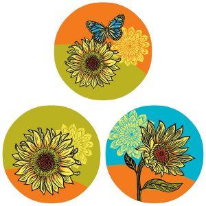 Hello Sunshine Envelope Seals  (3 Designs)