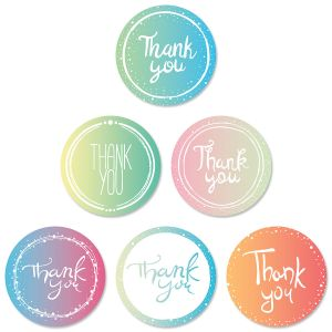 Round of Thanks Envelope Seals (6 Designs)