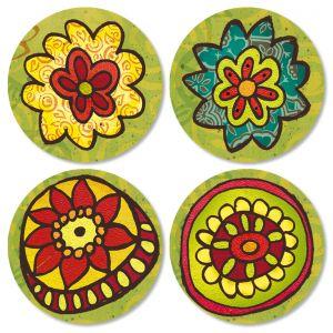 Gypsy Garden Envelope Seals (4 Designs)