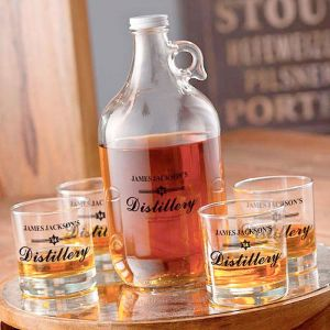 Distillery Personalized Growler Set