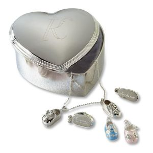 Custom Heart Trinket Box