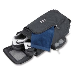 Custom Black Golf Shoe Bag