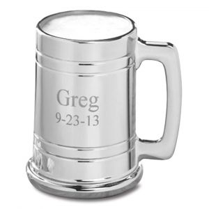 Gunmetal Personalized Mug