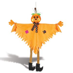 Poseable Hanging Halloween Pumpkin