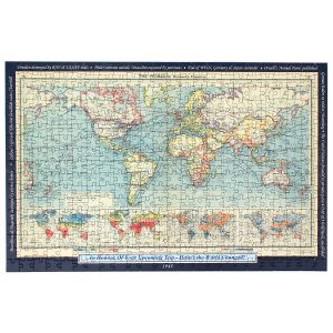 Custom Your Year, Your World Map Puzzle